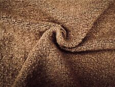 CAMEL COLOUR  WOOL CASHMERE BLEND SOFT BOUCLE RUSTIC KNIT MADE IN ITALY D148