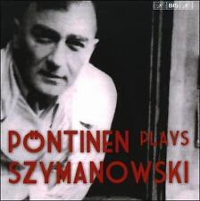 "P""NTINEN PLAYS SZYMANOWSKI (NEW CD)"