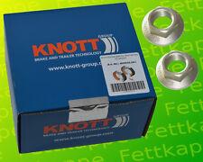 1 x Knott Brake Shoes 20-2425/1 200x50 Selbstnachstellend on the +2x Flange Nut