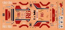 FIAT 131 R6  RALLYE SANREMO ACROPOLI 1982 N°36/47 DECALS 1/43