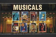 GB 2011 MUSICALS STAMP PRESENTATION PACK