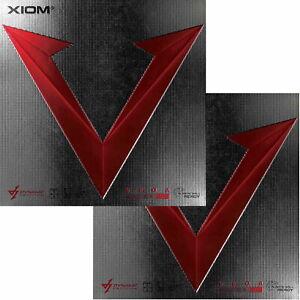 Xiom Vega Asia DF / DOPPELPACK / Tischtennisbelag / zum Sonderpreis