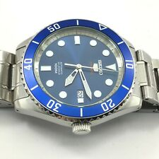Seiko 5 Sports Stainless Steel Blue Dial Automatic Men's Watch SRPB89
