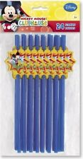 Mickey Mouse Clubhouse 24 Party Straws with Cutouts