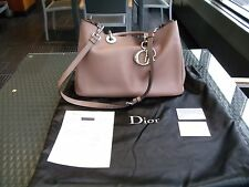 CHRISTIAN DIOR DIORISSIMO Rosewood Pink Leather Handbag