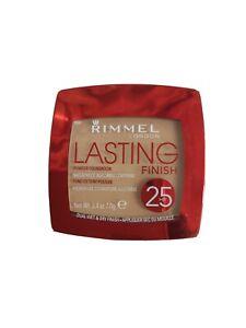 RIMMEL LONDON LASTING FINISH 25HR POWDER FOUNDATION 004 Light Honey