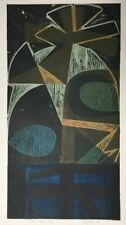 Peter Green Forest Totem, 1968 Signed Limited Edition Woodcut Print