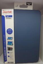 """***Hama Portfolio """"Uni"""" für Samsung Tablets bis 20,3 cm (8""""), Blau***"""