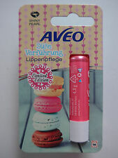 Aveo Lippenpflege Stift Süß Verführung Shiny Pearl Limited Edition Erdbeere 4,8g