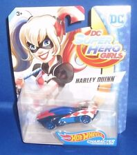DC SUPER HERO GIRLS COLLECTOR HOT WHEELS CHARACTER CARS HARLEY QUINN, NEW