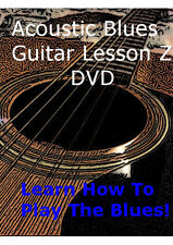 Acoustic Blues Guitar Lesson Z DVD  For Beginners! + Bonus Items!