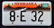NEBRASKA CHIMNEY ROCK CITY SKYLINE 1999 Vintage Classic NE Graphic License Plate
