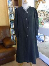 ANCIEN MANTEAU femme fin XIXè T 36/38 Old women's coat XIXth siz S