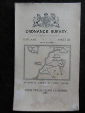 Edwardian Ordnance Survey Map of Ayr, Girvan, Ayrshire 1909 - Sheet 30, Scotland