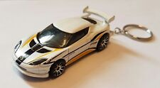 Hotwheels lotus evora gt4 keyring diecast car