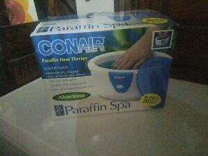Conair Professional Paraffin Heat Therapy Spa Aloe Vera PB2 Bonus 20 Liners  NIB