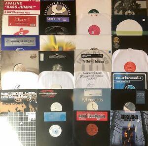 Lot of 30 **HOUSE/TRANCE/DRUM & BASS/EDM** DJ vinyl