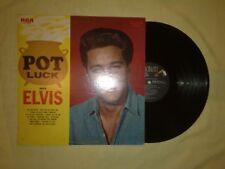 ELVIS PRESLEY POT LUCK LP (EX) (USA ISSUE) (LSP 2523)