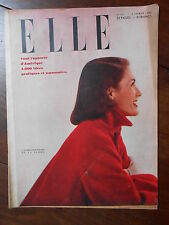 ►ELLE 115/1948 - DICK HAYMES - KIMSEY - LORETTA YOUNG -  MODE FASHION VINTAGE