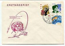 1963 Ersttagsbrief Valentina Tereschkowa Juri Gagarin DDR SPACE NASA