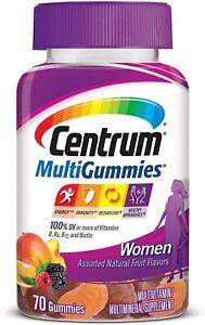 Centrum MultiGummies Gummy Multivitamin for Women, Multivitamin/Multimineral...