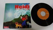 "HEIDI BANDA ORIGINAL SERIE RTVE CAPITULO 5 7"" VINYL SPANISH EDITION MEGA RARE!!!"