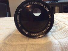 VIVITAR 80-200mm F4.5 K/AR Zoom LENS Great Condition