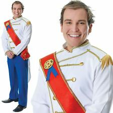 Adults Fairy Tale Medieval Royal Prince Charming Fancy Dress Costume Standard