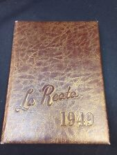 La Reata Glendale College Yearbook 1949,fantastic !!