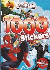 Marvel Spider-Man 1000 Stickers Activity Book, New