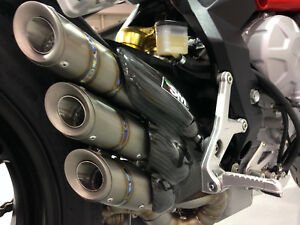 MV Agusta Brutale RR Dragster RR 800 2013-2016 Silmotor Exhaust Silencer Titanui