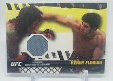 2010 Topps UFC Fight Mat Relics Card #FMKF Kenny Florian/UFC 107