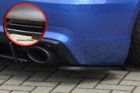 Heckansatz Diffusor Spoilerecken Seitenteile aus ABS Audi RS3 8V schwarz glanz