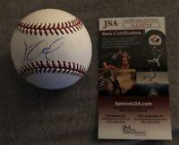 KOLBY ALLARD SIGNED OFFICIAL MLB BASEBALL ATLANTA BRAVES AUTO+JSA COA!