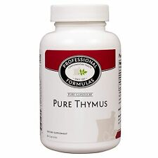 PURE THYMUS NEW ZEALAND GRASSFED COWS GLAND FUNCTION DISORDERS EXTRACT HORMONES