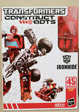 Transformers Construct Bots Ironhide & Starscream lot of 2! 100% Complete!!!