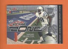 2001 FLEER GAME TIME IN THE ZONE MARVIN HARRISON GAME-USED PYLON #MH COLTS