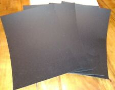 "Worbla Black Art Sheet 36x25cm/10x14"" Cosplay Costume Mask Armour Modelling"