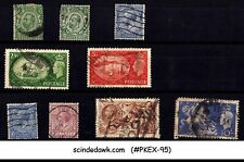 Great Britain - Selected Stamps Of Kgv & Kgvi from 1910-1951 10V- Used