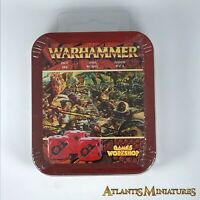 Empire Tin Playing Dice - Sealed (minor rust on tin) - Age of Sigmar C1459