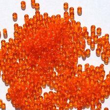 40 orange rot gemusterte Holzperlen 10-22 mm Kugelform Indianerperlen Kinderpe