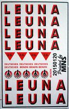 Leuna Kesselwagen Decals 1:160 Wasserschiebebilder