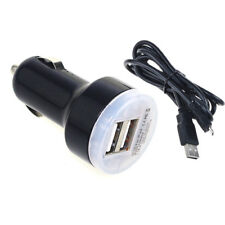 High Output Dual USB Car Charger For HTC EVO LG Samsung Motorola Android Phones