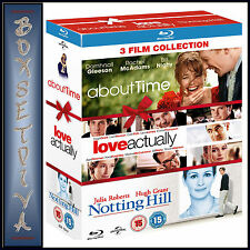 ABOUT TIME / LOVE ACTUALLY & NOTTING HILL -   *BRAND NEW BLURAY REGION FREE*