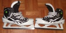 PHOENIX COYOTES Mike Smith practice-worn Reebok 11K goalie skates (size 11 1/2)