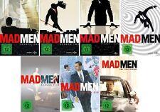 30 DVDs * MAD MEN SEASON / STAFFEL 1 - 7 IM SET - KOMPLETTE SERIE # NEU OVP +