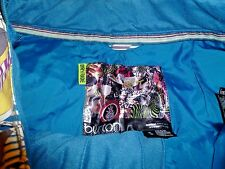 womens size small Burton yellow blue plaid snowboard snow pants ski  Dryride