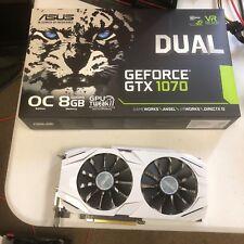 ASUS DUAL GEFORCE GTX 1070 8G GRAPHICS CARD GPU 2 MONTHS OLD