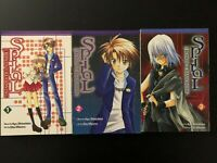Spiral The Bonds of Reasoning vol.1,2,3 Manga Anime  English Kyo Shirodaira
