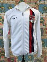 Vintage Nike Team Sports USA Soccer Official Track Jacket Men's LARGE